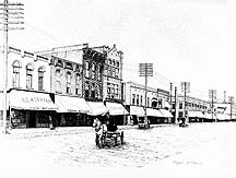 Downtown Albion 1910