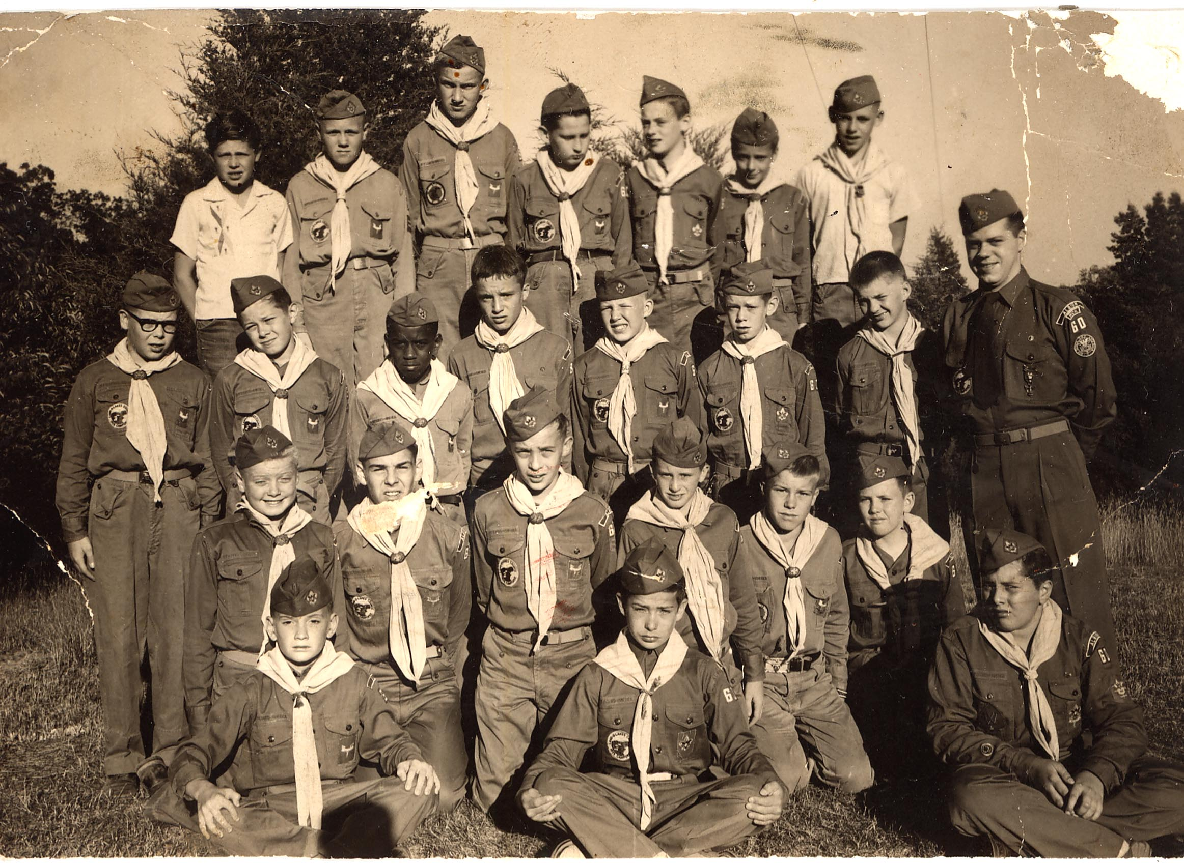 1954 BOY SCOUT TROOP 60