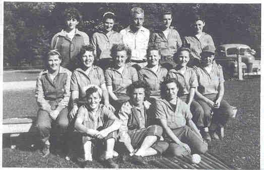 1944 Albion Merchant Girls Softball Team
