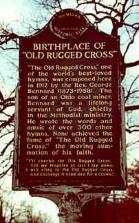 Historical Markers Birthplace Of The Old Rugged Cross