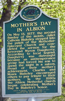 1877 : First Known Observance of Mother's Day in Albion